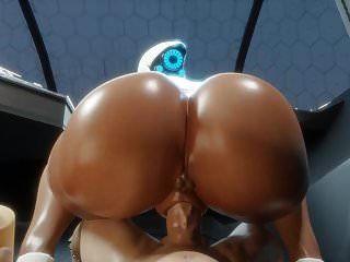 Beute Haydee Pov großen schwarzen Arsch Blase Hintern (3D Hentai)