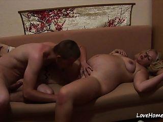 sexy schwangere blonde küken wird während pleasuring.mp4 gefilmt