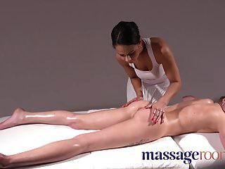 Massageräume französische und tschechische interrassische lesbische Massage