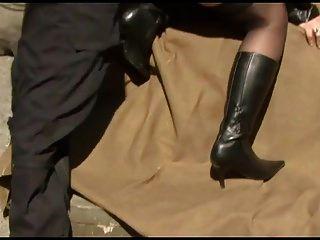 Riesige Floppy Tittenstrumpf Militär gefickt