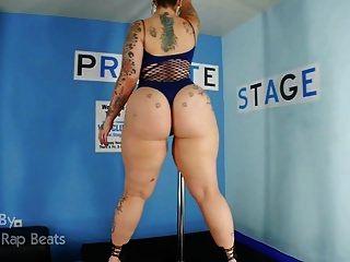 20 dicke Nackt-Big Butt Stripperinnen, Models und exotische Tänzer