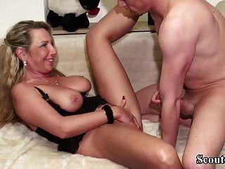 big dick junge verführt deutsche mutter zum ficken anal