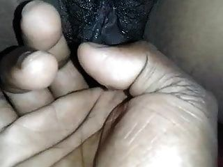 Frau Fingers saftige Muschi