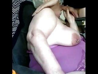 Jungschwanz für die fette Oma