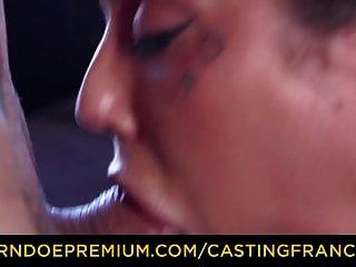 Casting Francais niedlich kurvige Amateur ersten Hardcore-Porno