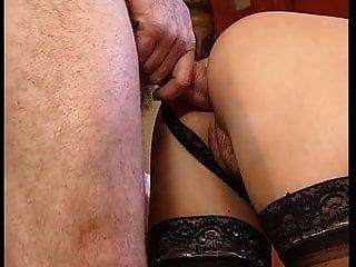behaarte anal und dp