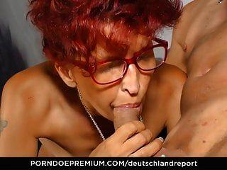 mature redhead saugt schwarzen schwanz