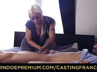 Casting Francais Busty Amateur erste Hardcore-Pornoszene