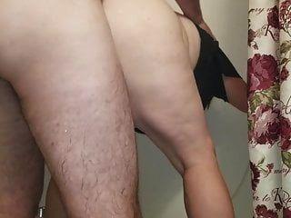 sexy bbw wird von hinten gefickt und tropft sperma