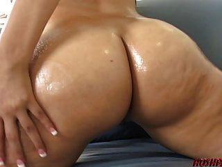 Big Booty Girl liebt Reiten Hahn und Sperma