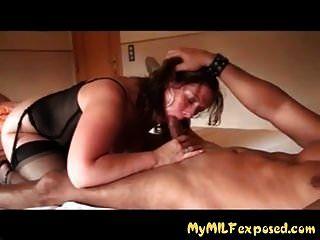 Wife licking cum friends pussy